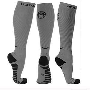 Men's negative ion compression socks (one pair)